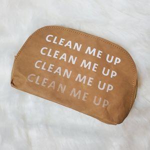 """Clean Me Up"" Makeup Bag"
